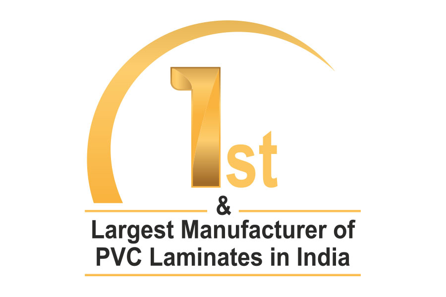 Logo of largest manufacturer of pvc laminates in india